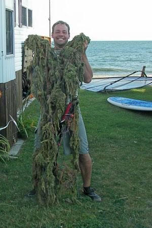 Seaweed-monster