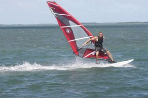 Andy Brandt windsurf