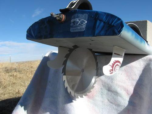 Windsurfing april fools