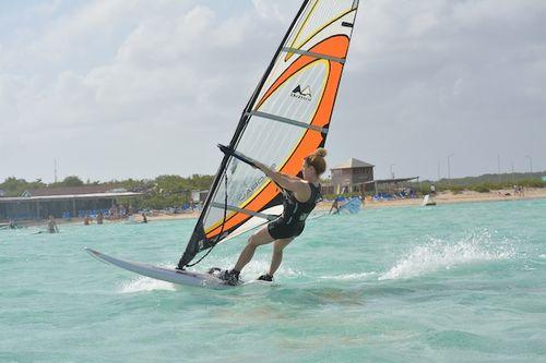 Sally in Bonaireweb