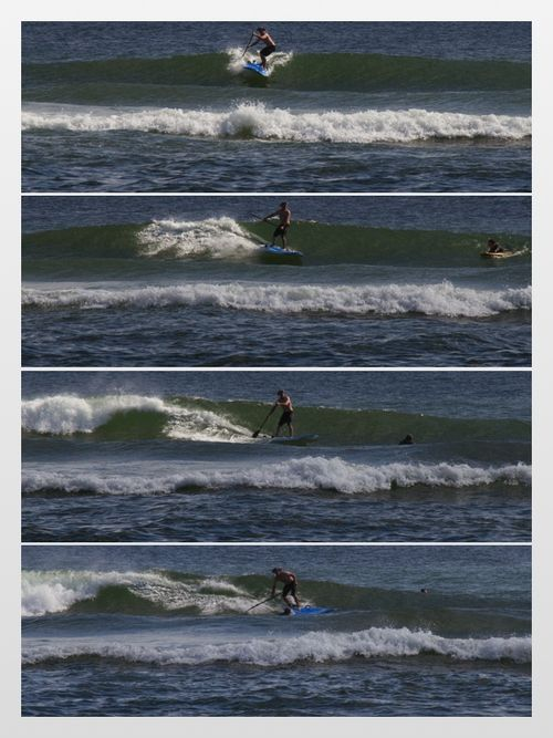 Go wave collage