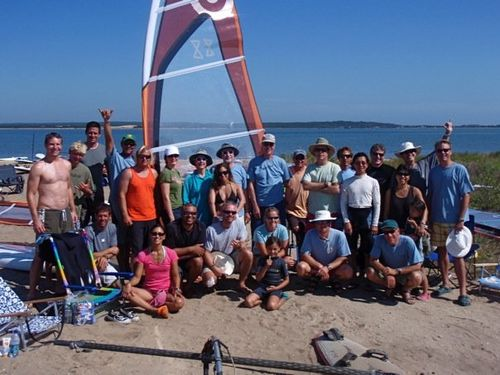 ABK windsurfing clinic long island