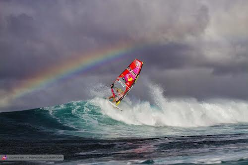 Robbie Naish windsurfing