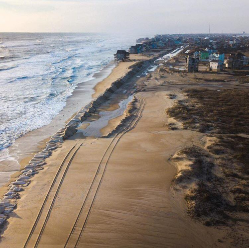 Outer banks obx storm damage