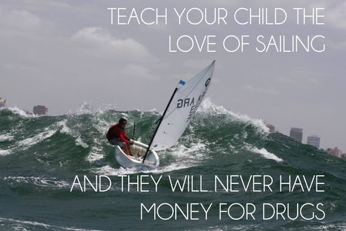 Love of windsurfing