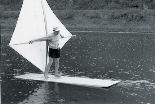 Newman Darby Windsurfing Inventor