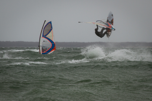 Meschutt windsurfing - April 1st -2