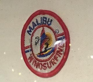 Malibu windsurfing